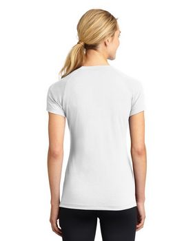 Sport-Tek LST700 Ladies Ultimate Performance V-Neck T-Shirt