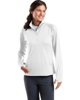 Sport-Tek LST850 Ladies Sport-Wick Stretch Pullover