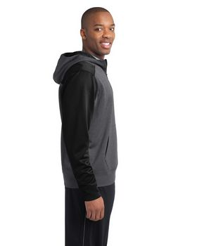 Sport-Tek ST249 Colorblock Tech Fleece 1/4-Zip Hooded Sweatshirt