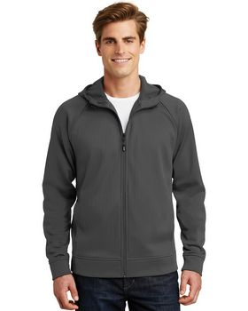 Sport-Tek ST295 Rival Tech Fleece Full-Zip Hooded Jacket