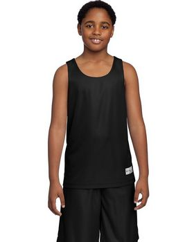 Sport-Tek YT550 Youth PosiCharge Mesh Reversible Tank