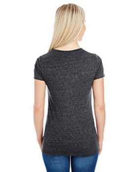 Threadfast Apparel 202B Ladies Triblend V-Neck Tee