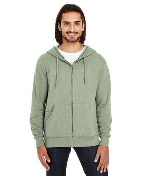 Threadfast Apparel 321Z Unisex French Terry Full-Zip