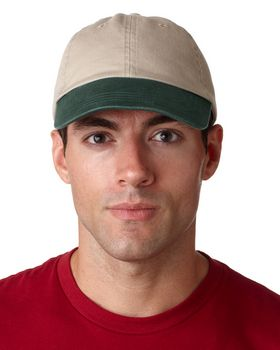 Ultraclub 8105 2 Tone Chino Hat