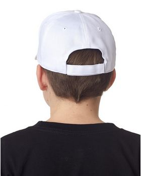 Ultraclub 8120Y Youth Classic Cut Cotton Twill Constructed Cap