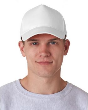 Ultraclub 8120 5 Panel Twill Cap