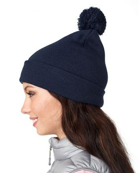 Ultraclub 8136 Knit Beanie with Cuff