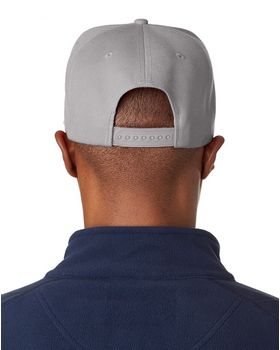 Ultraclub 8160 Flat Bill Cap