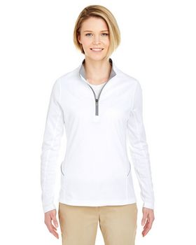 Ultraclub 8230L Ladies Sport 1/4-Zip Pullover