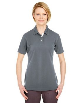 UltraClub 8325L Ladies Platinum Performance Birdseye Polo with TempControl Technology