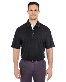 UltraClub 8325 Mens Platinum Performance Birdseye Polo with TempControl Technology