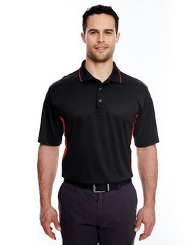 Ultraclub 8406 Mesh Sport Two Tone Polo