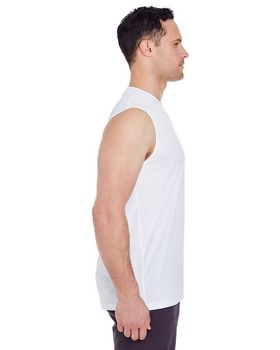 Ultraclub 8419 Interlock Sleeveless Tee
