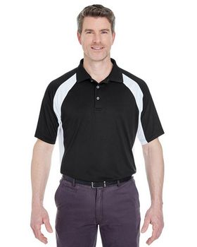 Ultraclub 8427 Two Tone Performance Polo