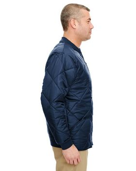 Ultraclub 8467 Adult Puffy Workwear Jacket
