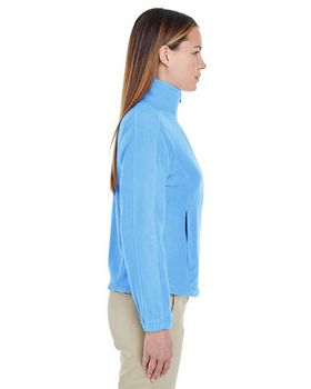 Ultraclub 8481 Ladies FullZip Fleece