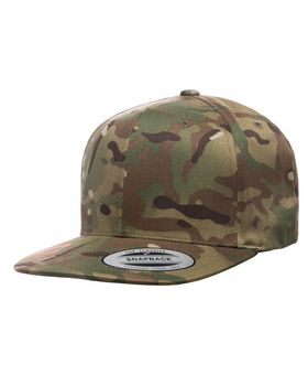 Yupoong 6089MC Classic Multicam Snapback - Shop at ApparelnBags.com