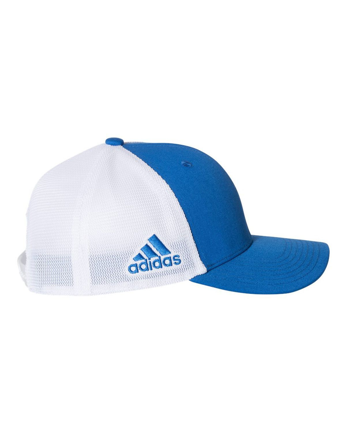 Logo Embroidered Adidas Golf A627 Mesh Colorblock Cap 762cdf290d69