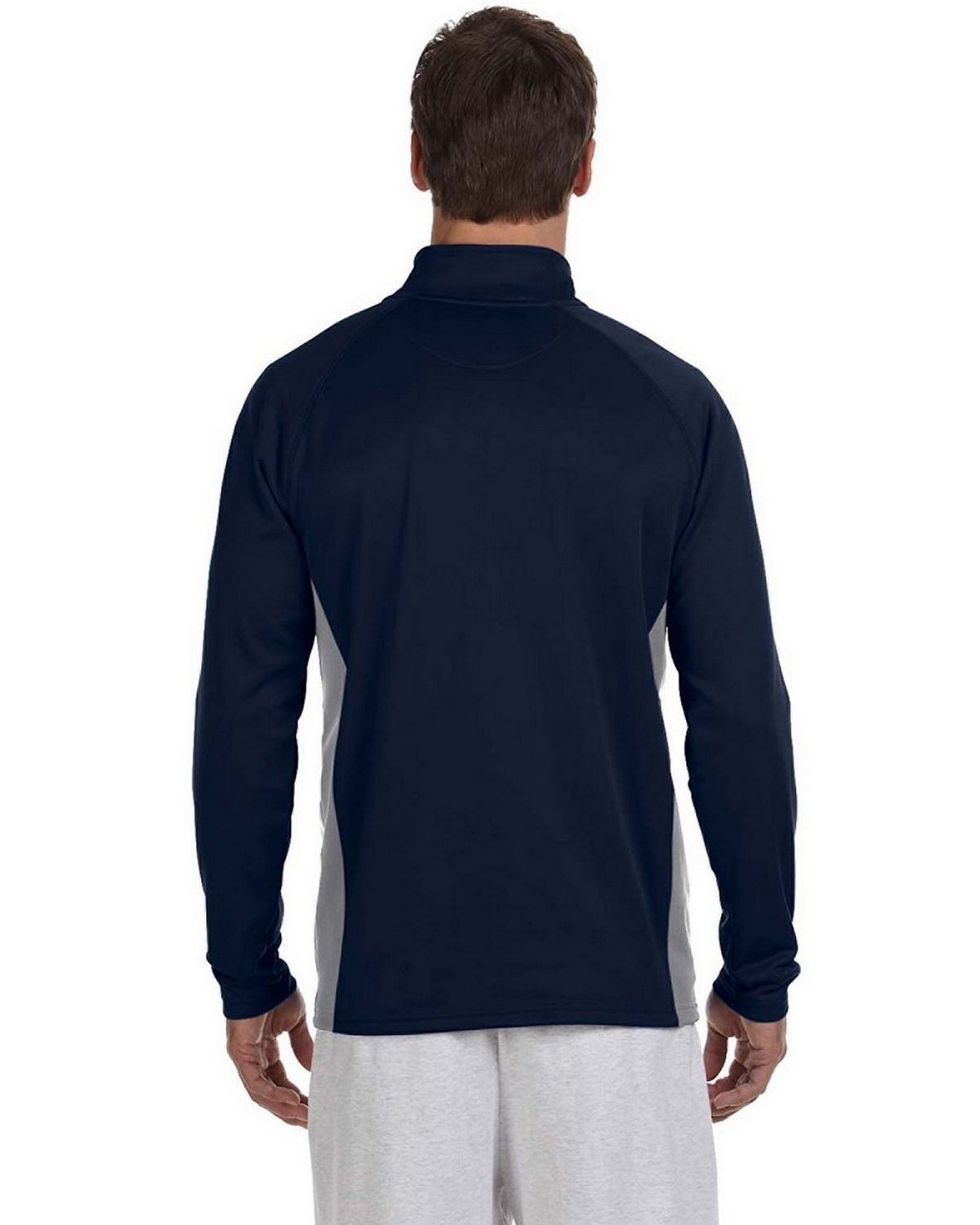 6dd5fb7b Reviews about Champion S230 Performance Colorblock Quarter Zip Pullover