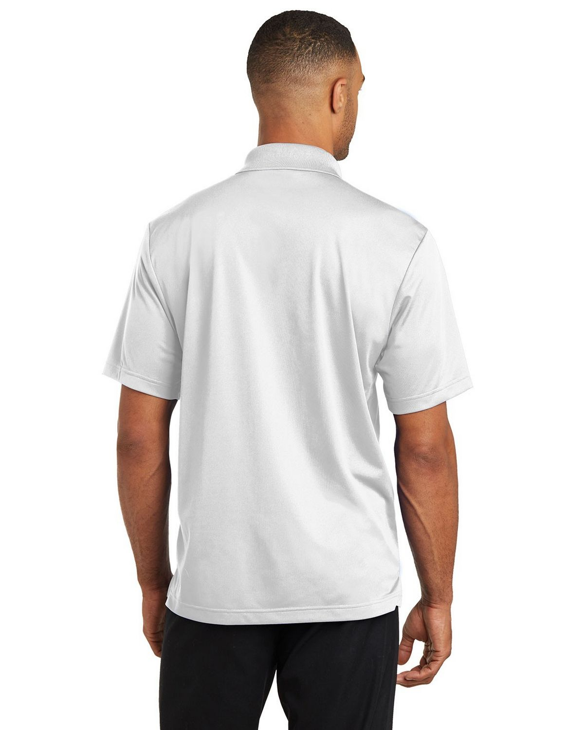 CornerStone® Micropique Gripper Polo. CS421 White 3XL LYCcz1y4dD