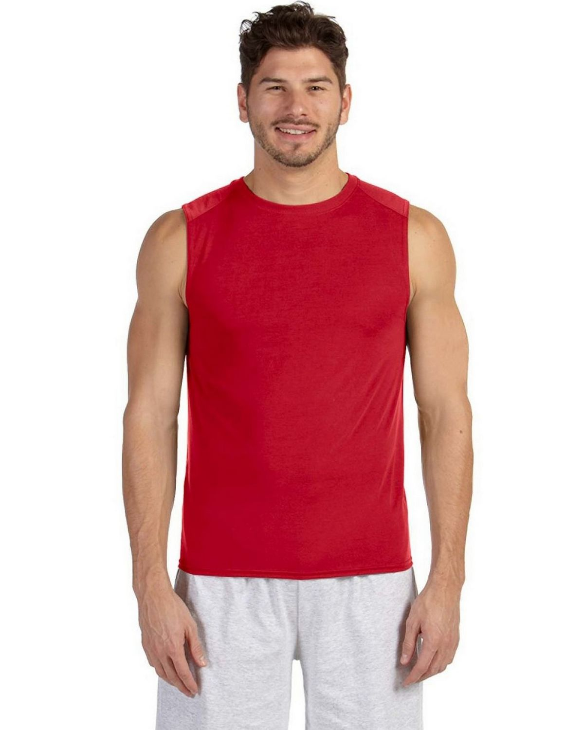Gildan g427 performance sleeveless t shirt size chart for Gildan brand t shirt size chart