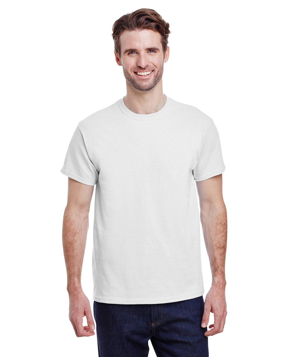 Gildan Men/'s Short Sleeves Ultra Cotton 6 oz Pocket S-XL T-Shirt M-G230