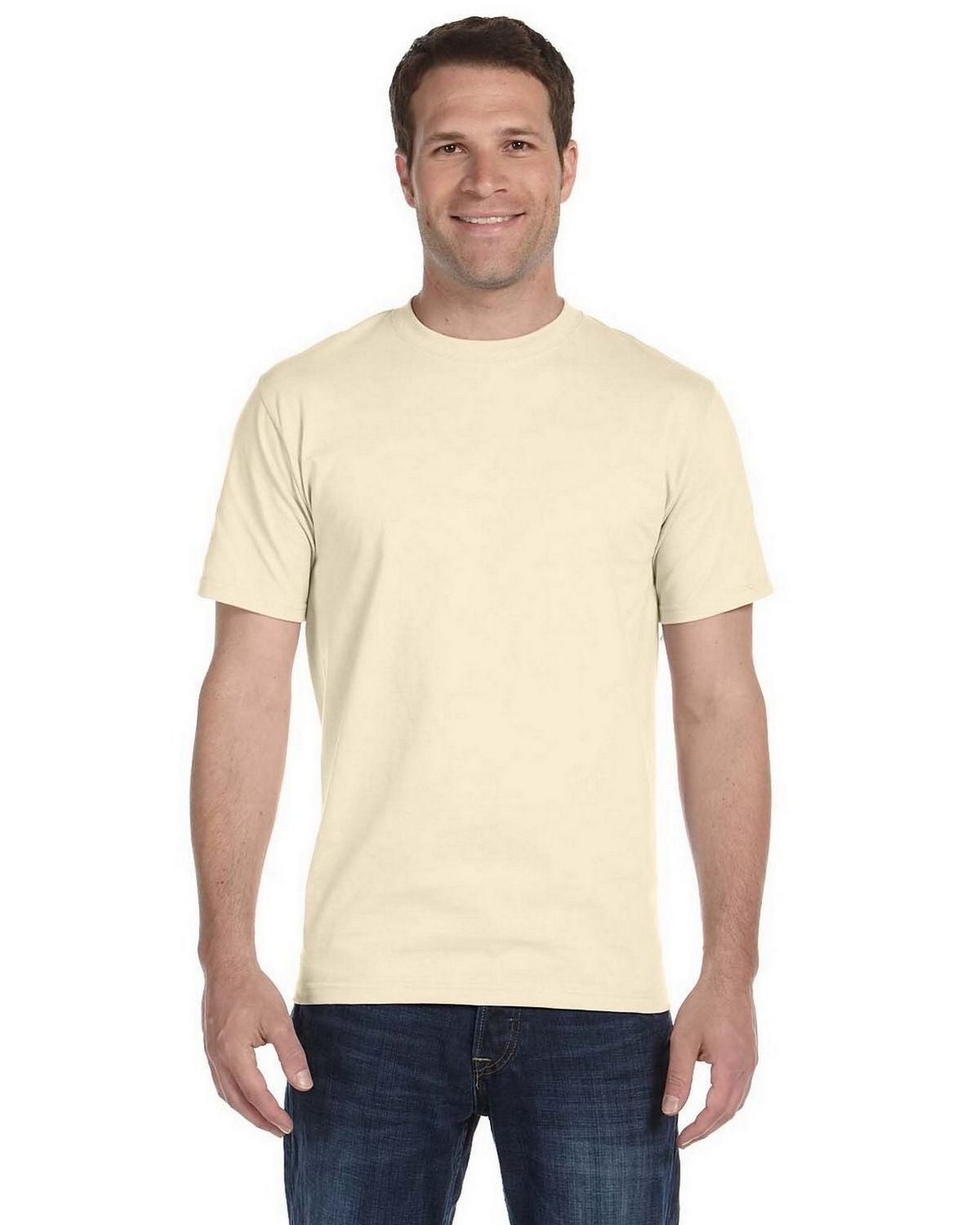 Cotton T-Shirt 5180 All Colors Unisex T Shirt S Hanes Beefy-T 6.1 oz 3XL