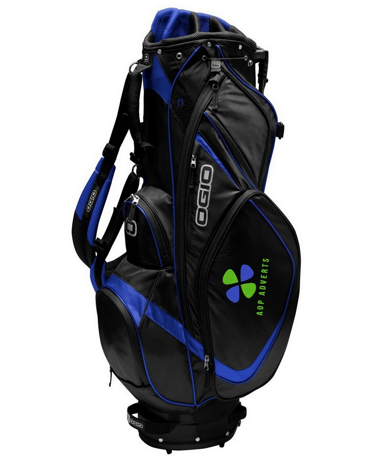Buy Logo Embroidered Ogio 425041 Vision Golf Stand Bag