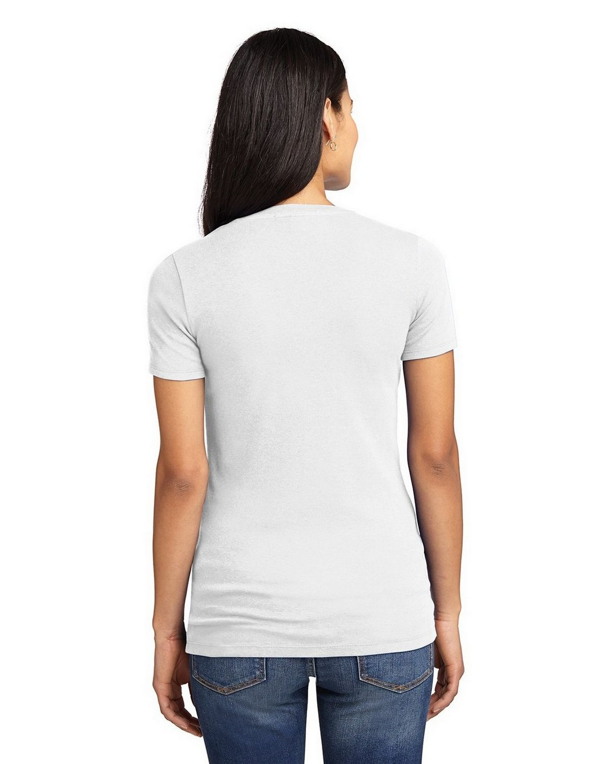 9e7f960bb6bb Size Chart for Port Authority LM1005 Ladies Concept Stretch V-Neck Tee