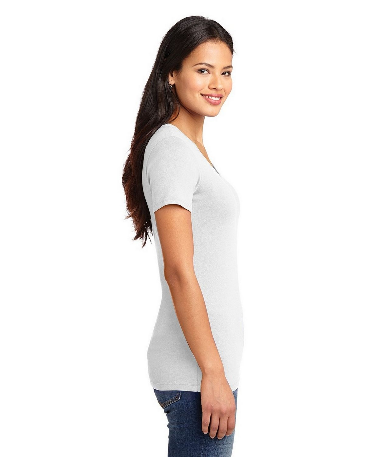 27bc42efa98a ... Port Authority LM1005 Ladies Concept Stretch V-Neck Tee