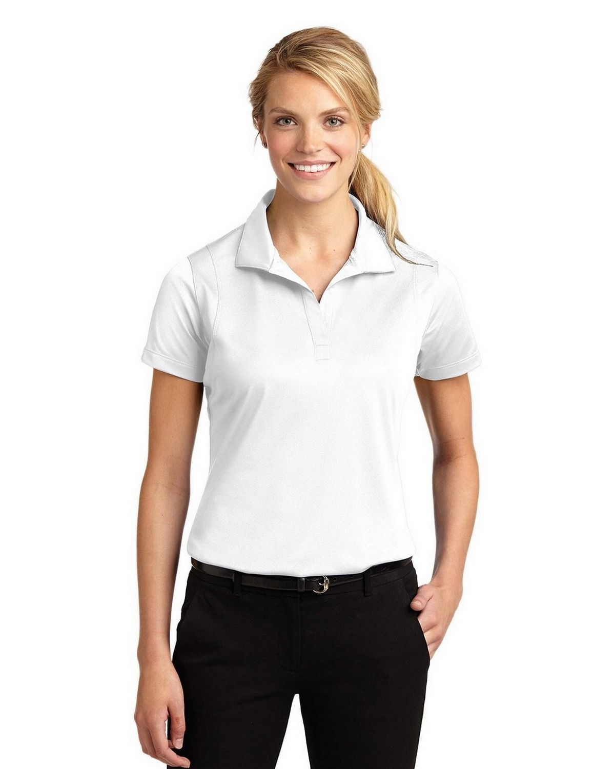 495408286 Sport-Tek LST650 Ladies Micropique Sport-Wick Polo by Port Authority ...