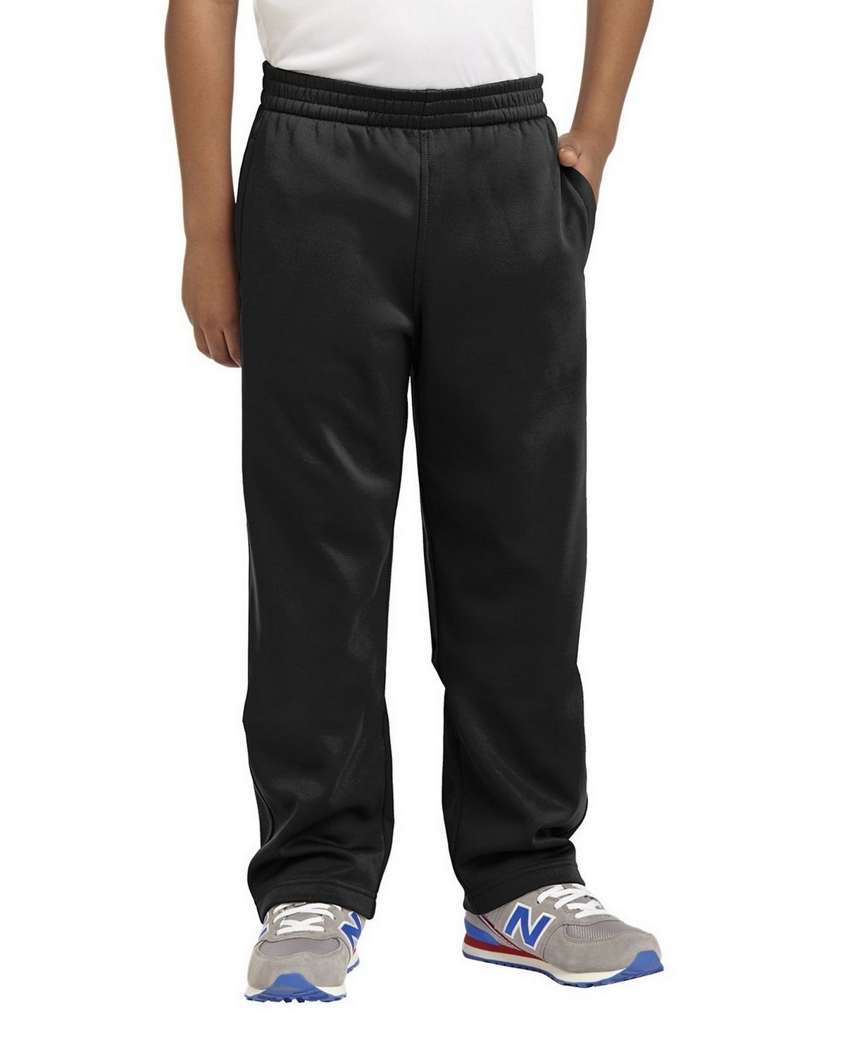 North End Girls Athletic Pants Black 68627 Large